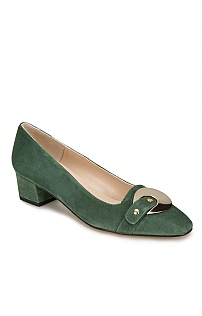 Fae Suede Court Shoe