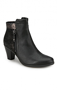 Contrast Ankle Boot