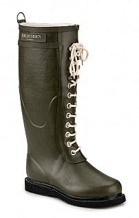 Long Lace-Up Boot