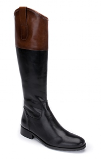 Contrast Top Riding Boot