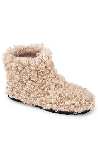 Curly Wool Boot