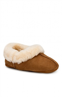 Ladies Sheepskin Turnover Slipper