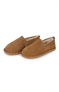Men's Sheepskin High Slipper