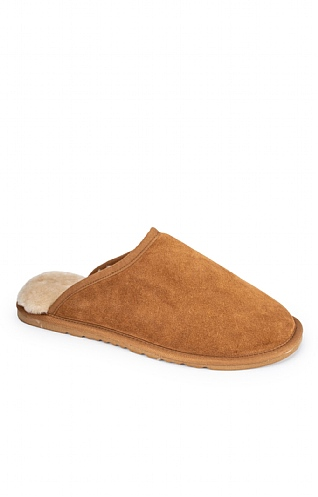 Men's Sheepskin Mules