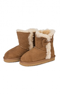 Sheepskin Bow Boot
