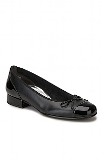 Gabor Patent Toe/Leather Pump