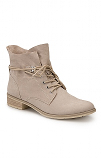 Marco Tozzi Suede Lace Up Boot