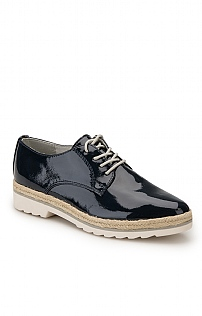 Marco Tozzi Patent Lace Up