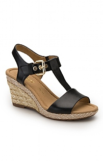 Gabor Wedge Sandal