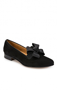 Bow Suede Slipper