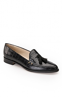 Croc Tassel Loafer
