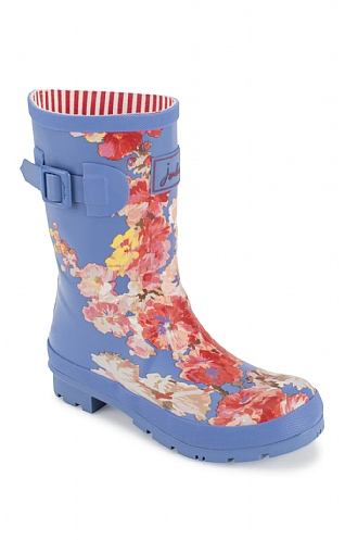 Joules Molly Mid-Height Printed Wellies