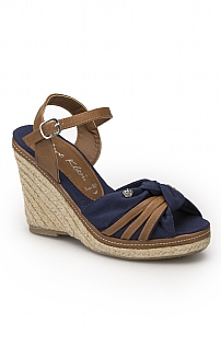 Jane Klain Continental Knot Wedge