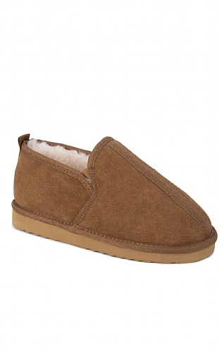 Ladies Sheepskin Outdoor Slipper