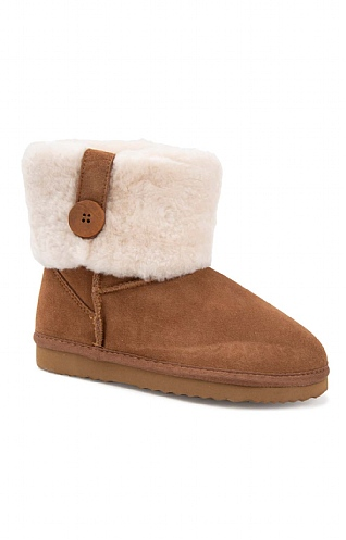 Sheepskin Turn Top Boot