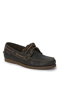 Sebago Leather Two Eye Boat Shoes