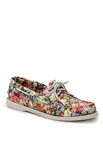 Sebago Liberty Print Boat Shoes