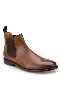 Mens Leather Chelsea Boot
