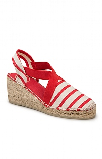 Toni Pons Striped Canvas Espadrille