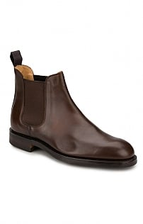 Mens Crockett And Jones Leather Chelsea Boot