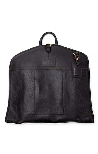 Harpder Leather Suit Carrier