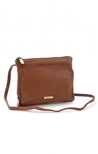 Two Compartment Crossbody Bag