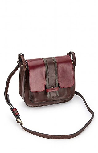 Gianni Conti Block Stripe Satchel
