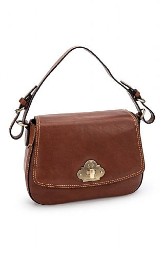 Gianni Conti Twist Lock Handbag