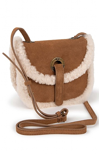 UGG Heritage Crossbody Suede Purse