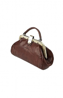 Ladies Gianni Conti Medium Clutch Lock Handbag