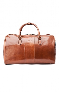 Mens Large Leather Overnight Bag