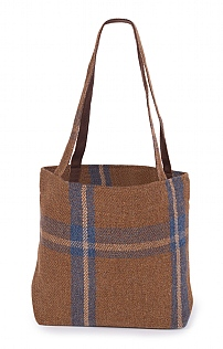 Small Tweed Shopper