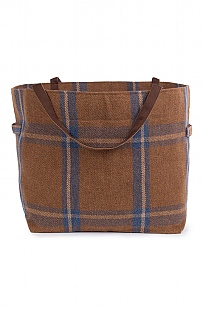 Large Tweed Shopper Bag