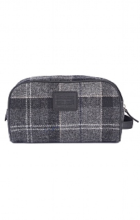 Barbour Shadow Tartan Washbag