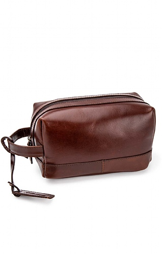 Rudy Leather Wash Bag