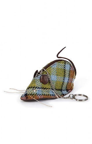 Islay Tweed Mouse Key and Coin Purse