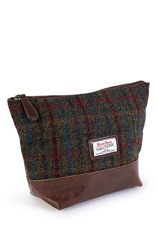 Harris Tweed Washbag