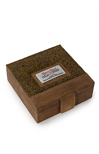 Harris Tweed Trinket Box