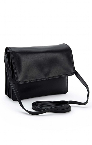 Small Half Flap Soft Bag