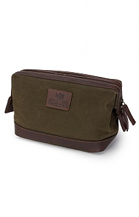 Waxed Canvas Washbag