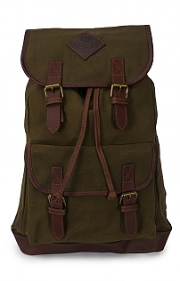 Waxed Canvas Rucksack