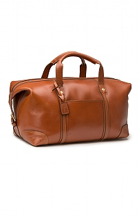 Mens Leather Stanley Holdall