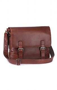Mens Leather Joscar Satchel