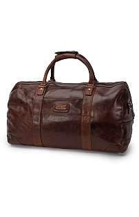 Mens Leather Francis Holdall