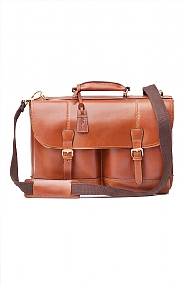 Mens Leather Henry Briefcase