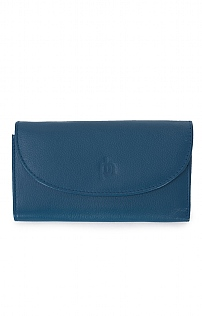 Flap Over Zip Wallet