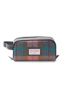 Harris Tweed Small Washbag