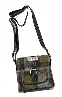 Harris Tweed Buckle Bag