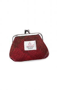 Harris Tweed Clasp Coin Purse