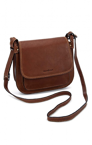 Gianni Conti Front Pocket Flapover Bag